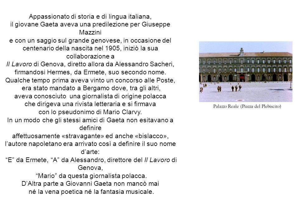 Appassionato di storia e di lingua italiana,
