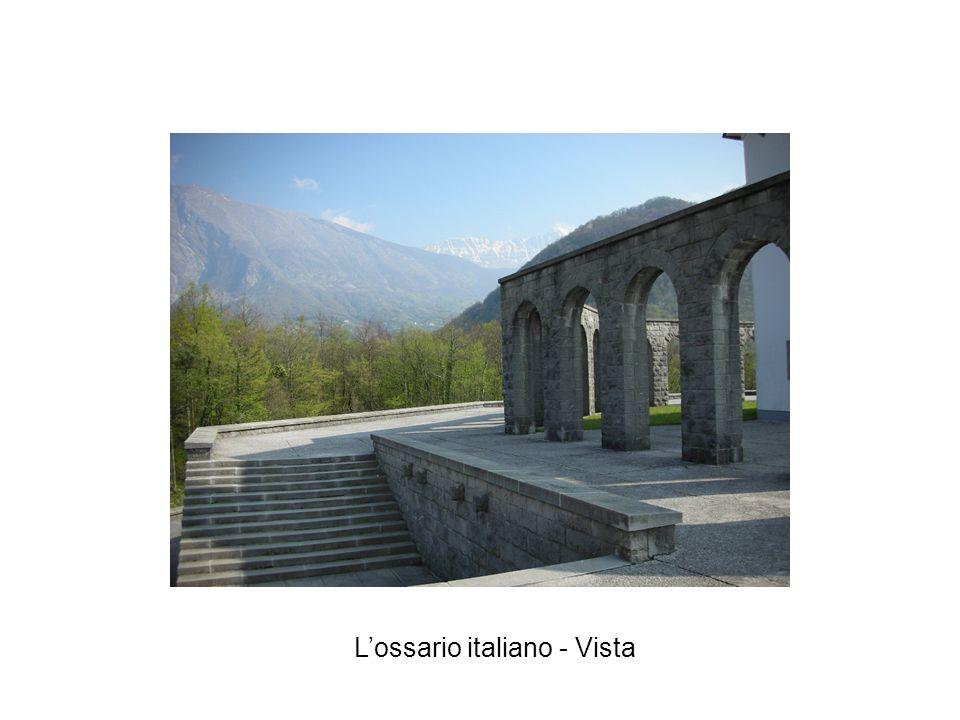 L'ossario italiano - Vista