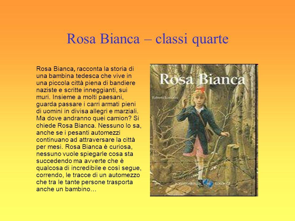 Rosa Bianca – classi quarte
