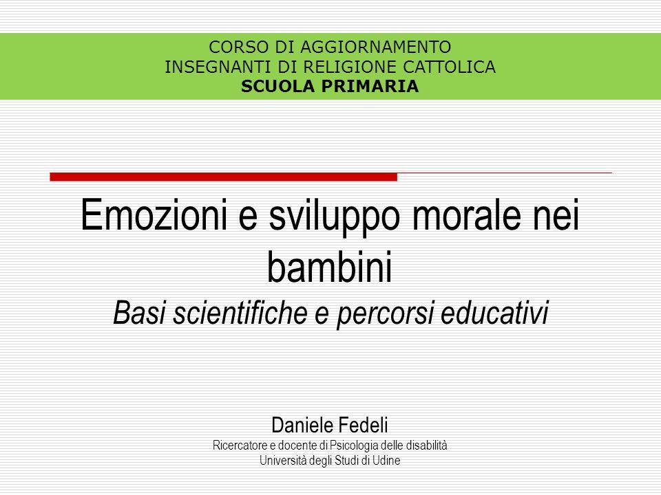 Emozioni e sviluppo morale nei bambini