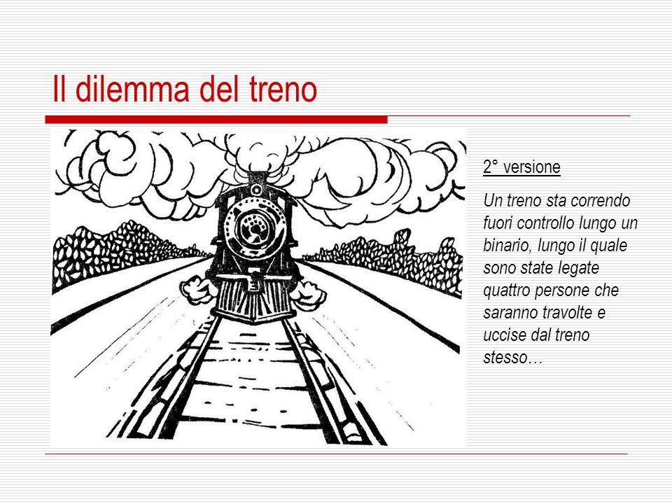 Il dilemma del treno 2° versione