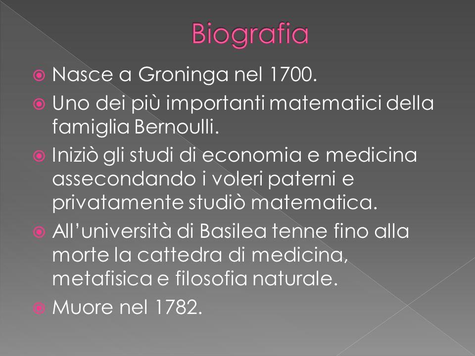 Biografia Nasce a Groninga nel 1700.
