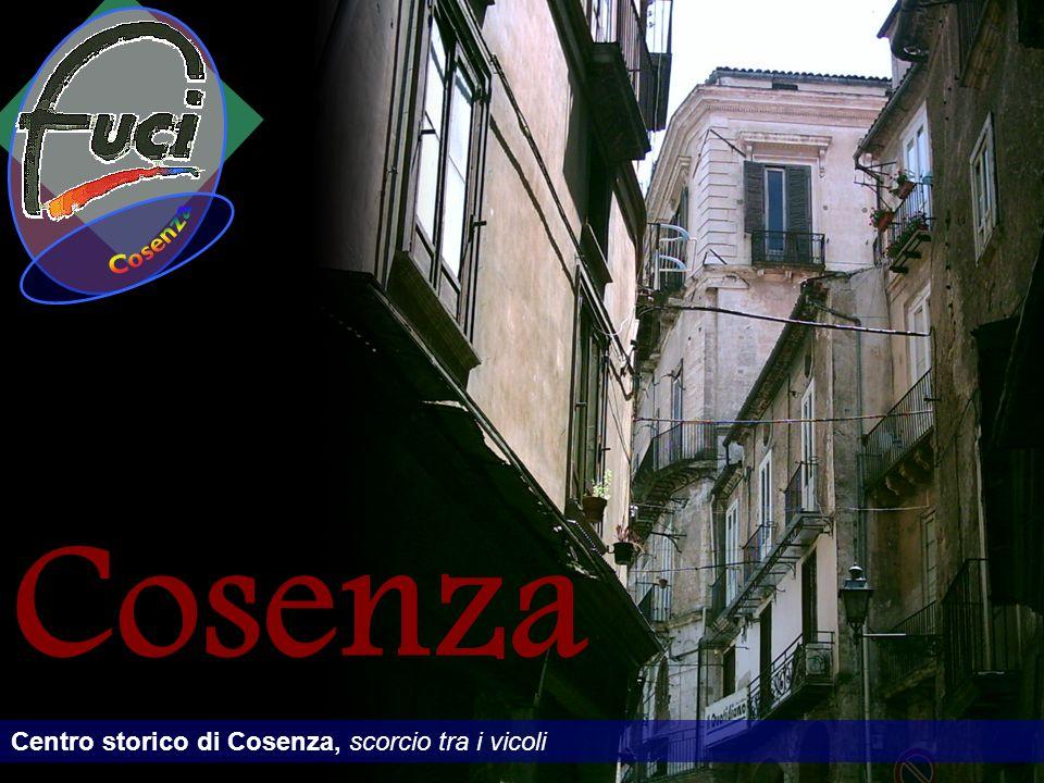 Cosenza Cosenza Centro storico di Cosenza, scorcio tra i vicoli