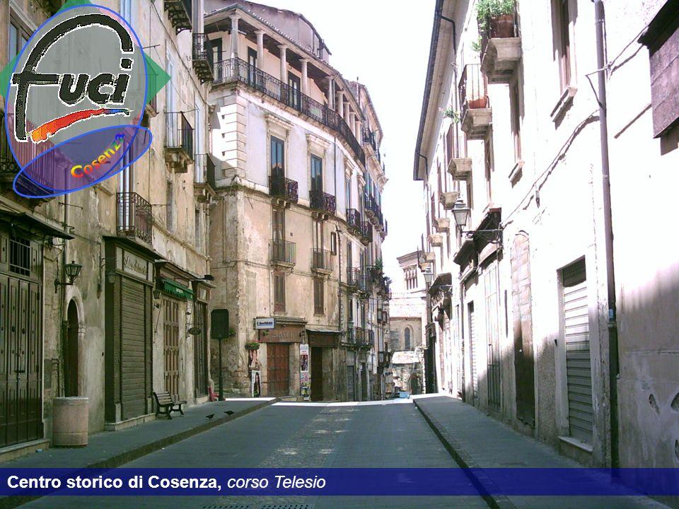 Cosenza Centro storico di Cosenza, corso Telesio