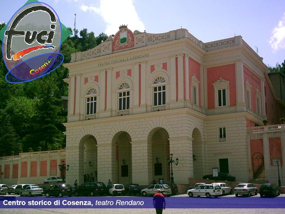 Cosenza Centro storico di Cosenza, teatro Rendano