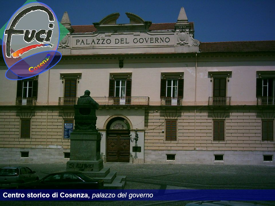 Cosenza Centro storico di Cosenza, palazzo del governo