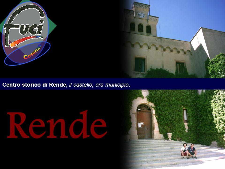 Cosenza Centro storico di Rende, il castello, ora municipio. Rende