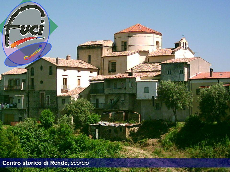 Cosenza Centro storico di Rende, scorcio