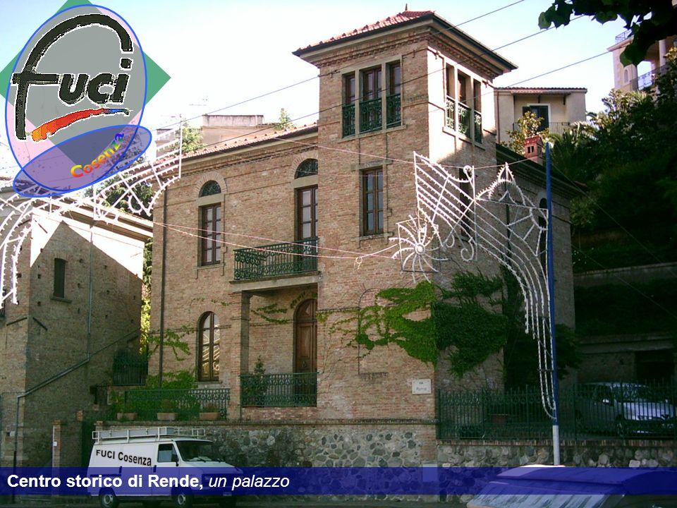 Cosenza FUCI Cosenza Centro storico di Rende, un palazzo