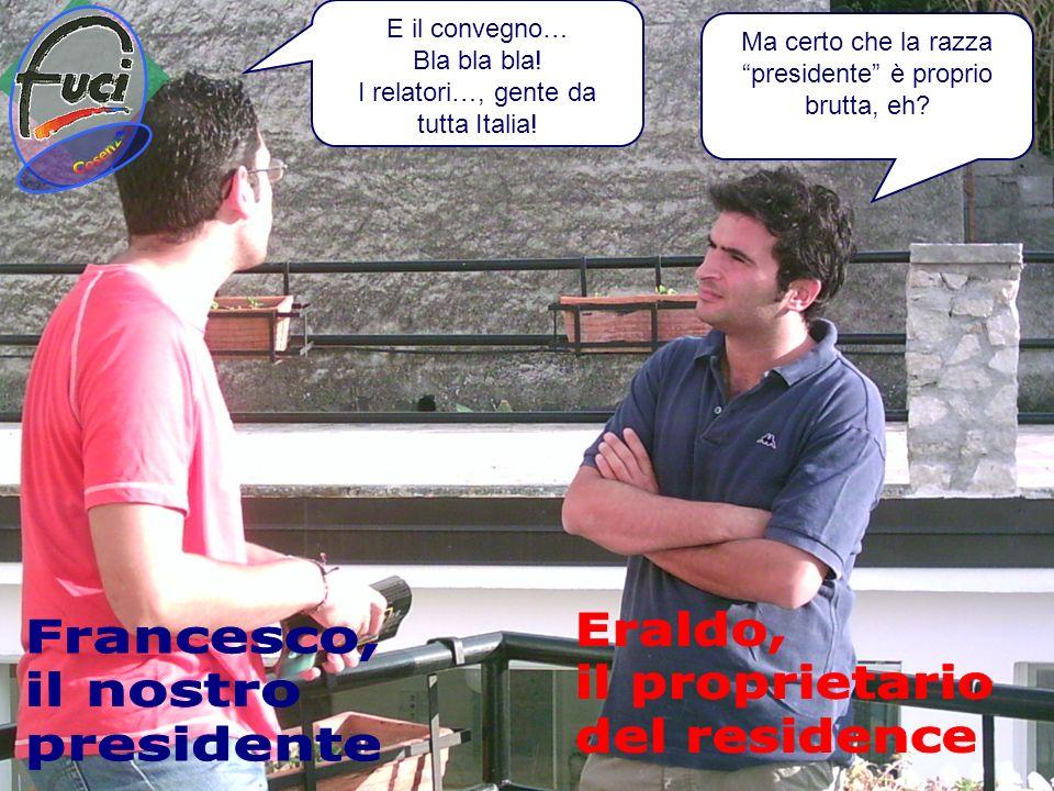 Cosenza Eraldo, Francesco, il proprietario il nostro del residence