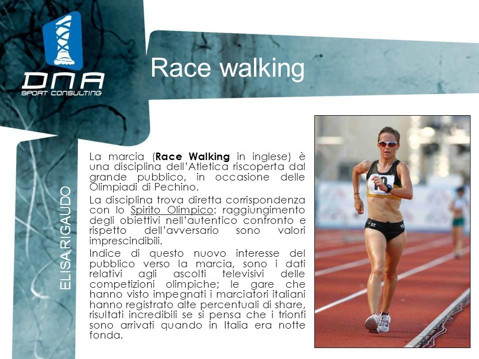Race walking ELISA RIGAUDO