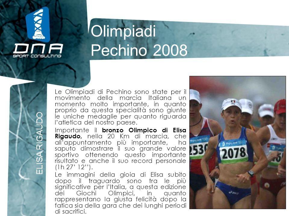 Olimpiadi Pechino 2008 ELISA RIGAUDO