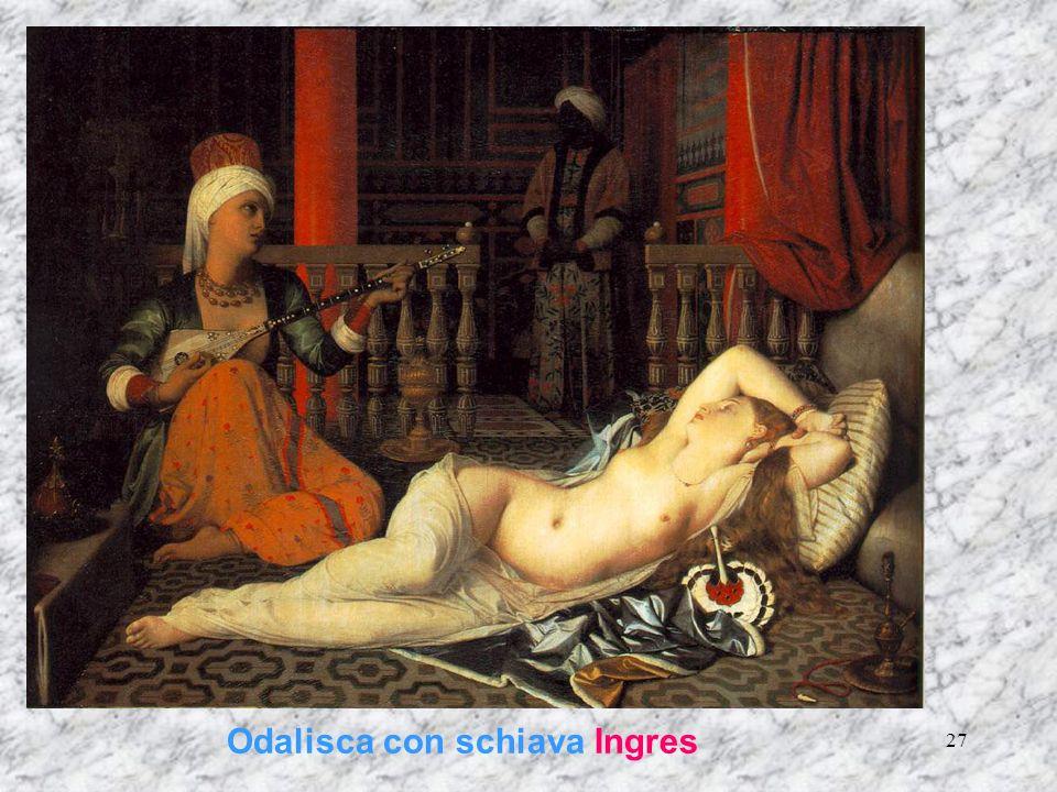 Odalisca con schiava Ingres