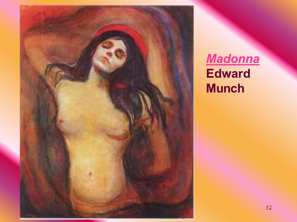Madonna Edward Munch