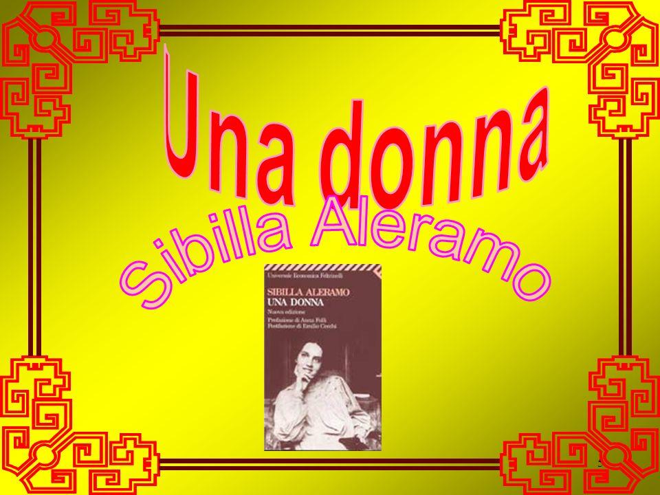 Una donna Sibilla Aleramo