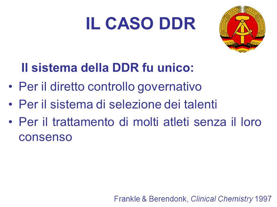 Il sistema della DDR fu unico: