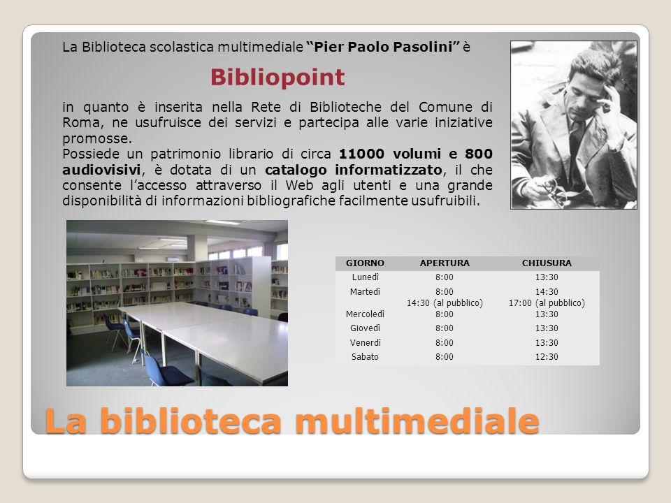 La biblioteca multimediale