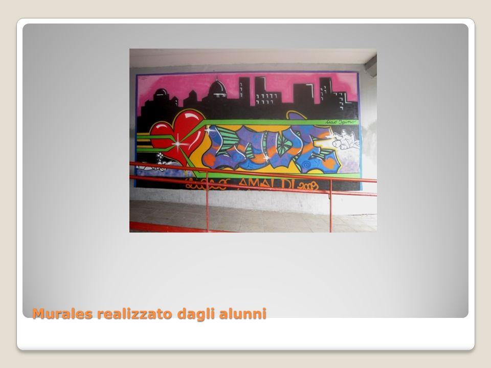 Murales realizzato dagli alunni