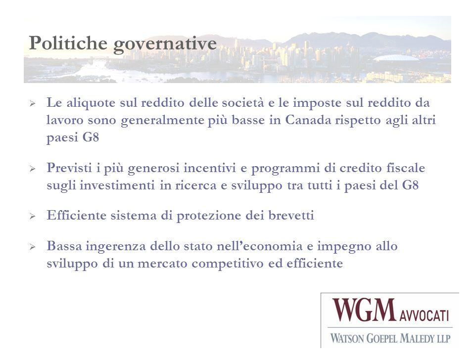 Politiche governative