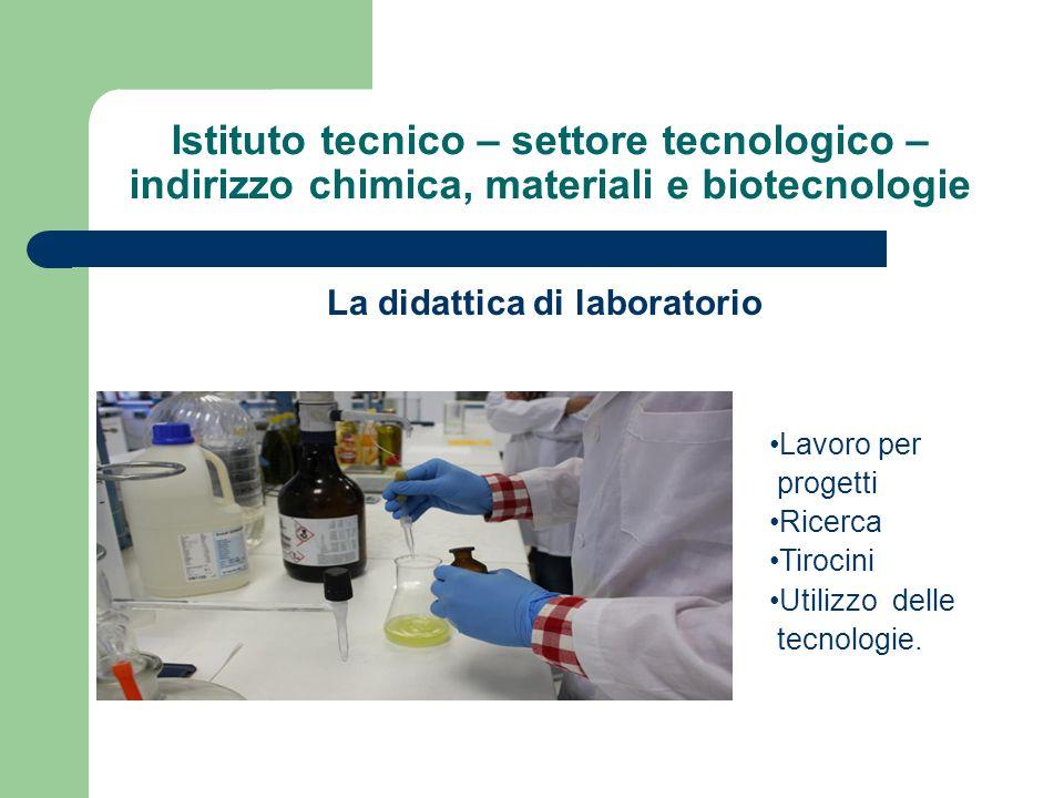 La didattica di laboratorio