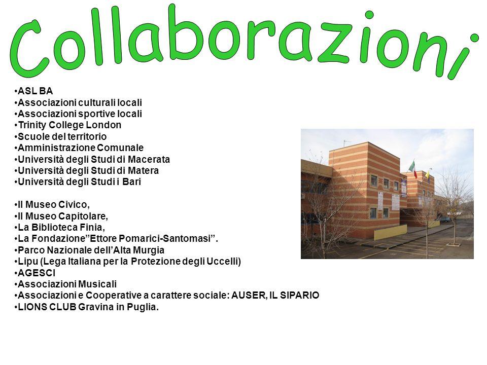 Collaborazioni ASL BA Associazioni culturali locali