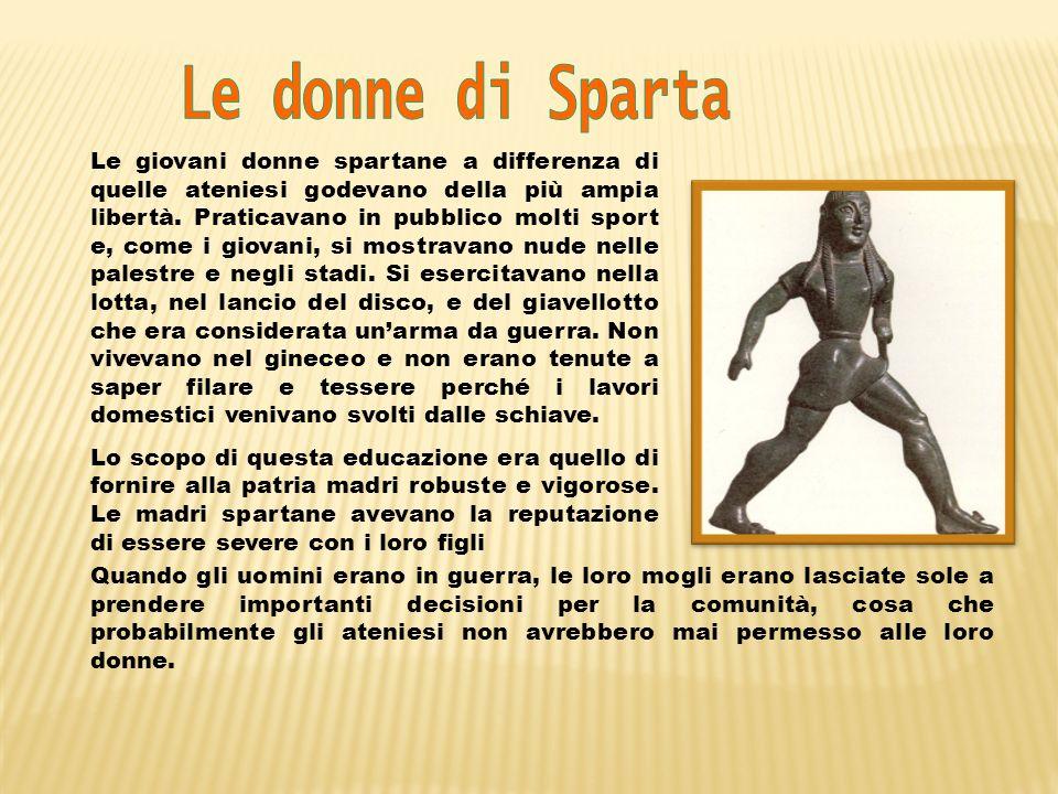 Le donne di Sparta