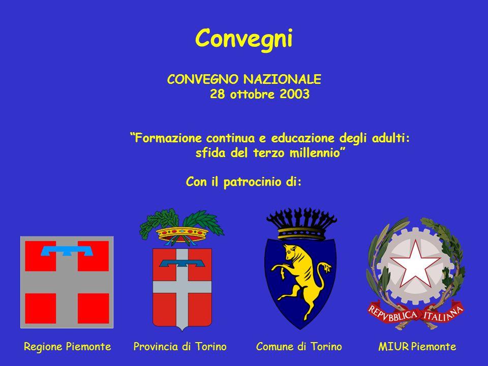 Convegni CONVEGNO NAZIONALE 28 ottobre 2003