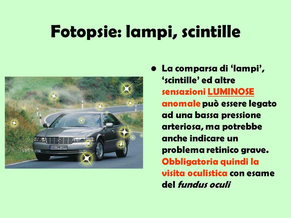 Fotopsie: lampi, scintille