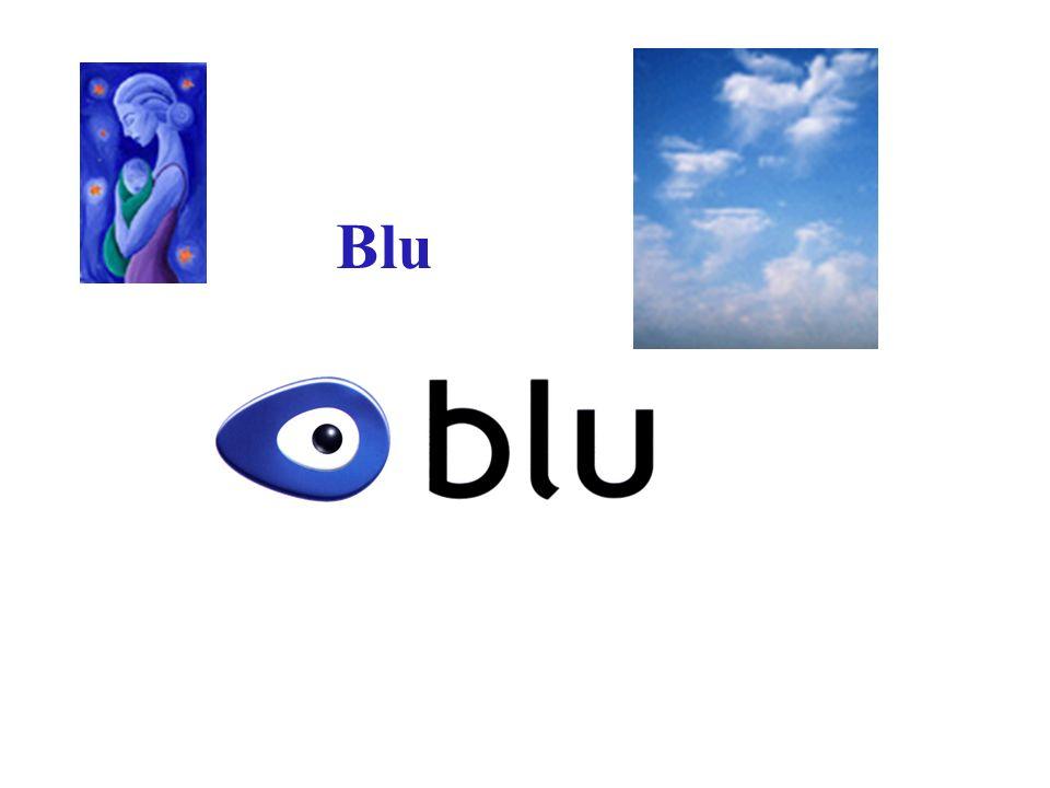 Blu nel blu dipinta di blu