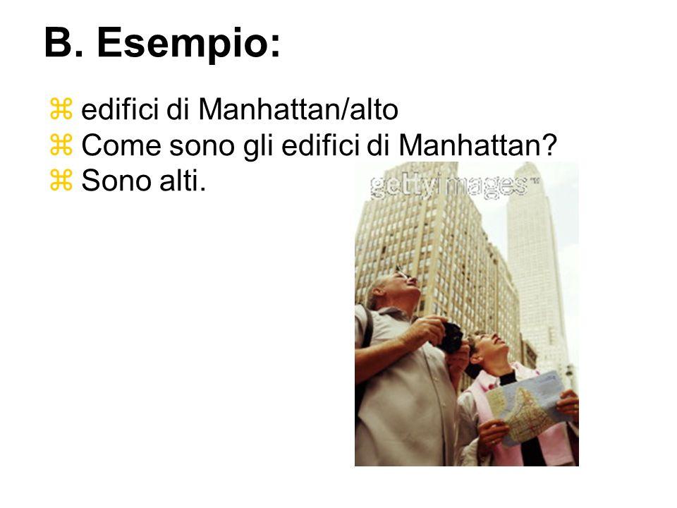 B. Esempio: edifici di Manhattan/alto