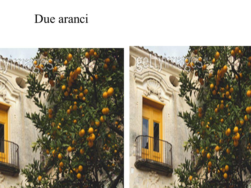 Due aranci