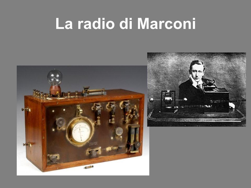 La radio di Marconi