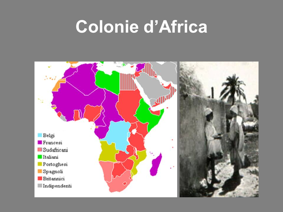 Colonie d'Africa