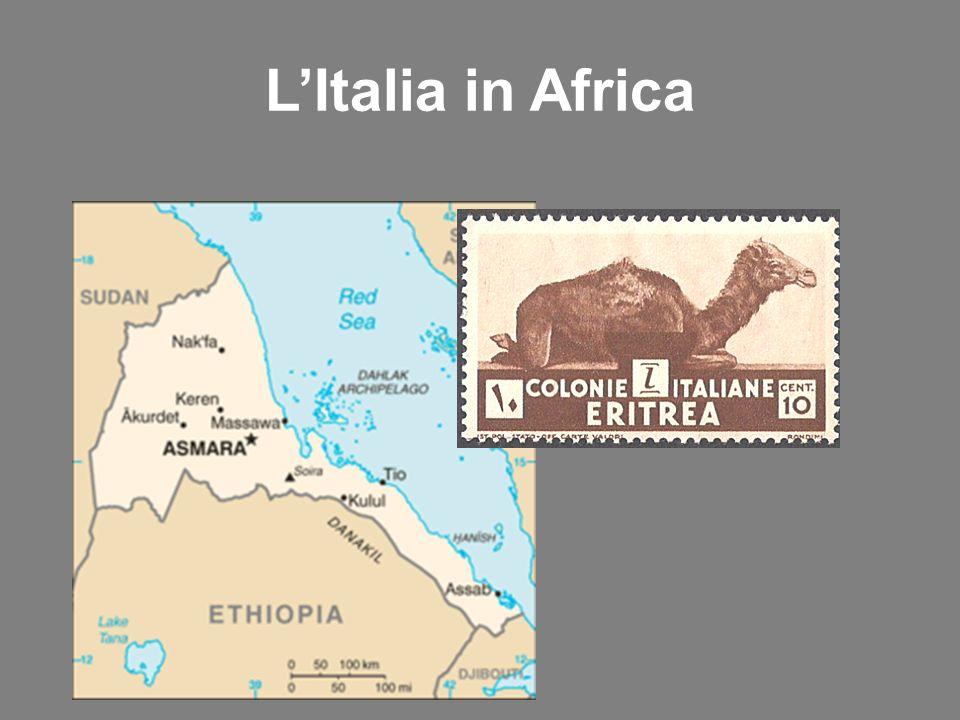 L'Italia in Africa