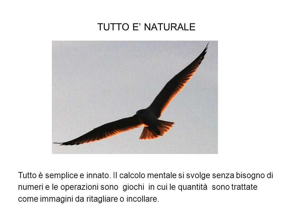 TUTTO E' NATURALE
