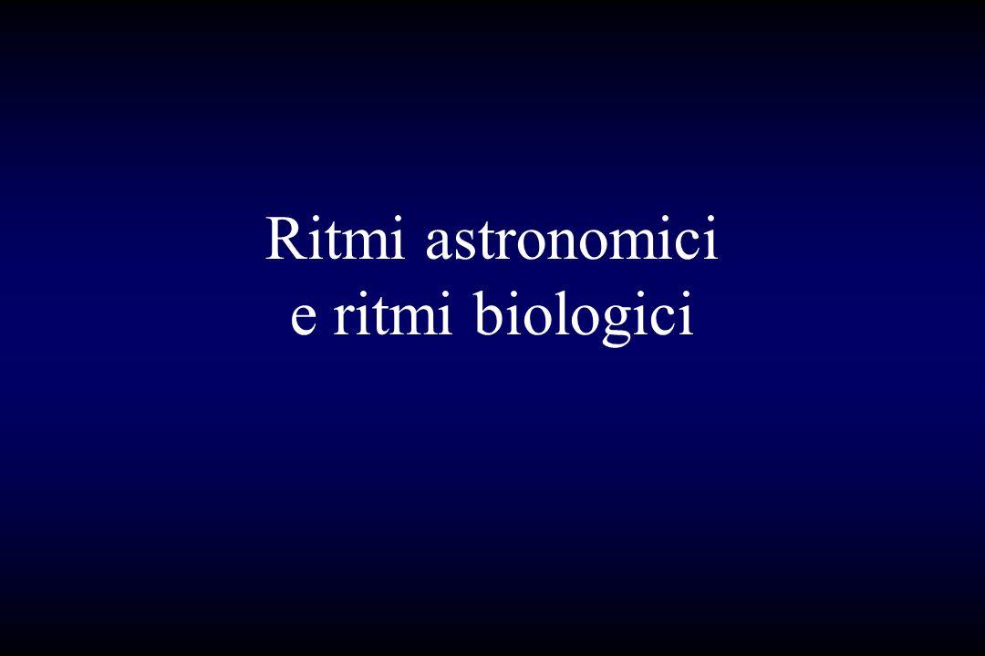 Ritmi astronomici e ritmi biologici