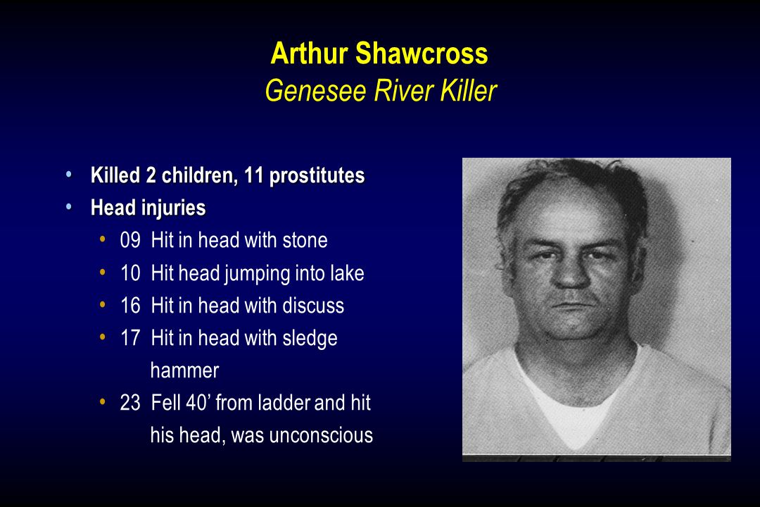 Arthur Shawcross Genesee River Killer