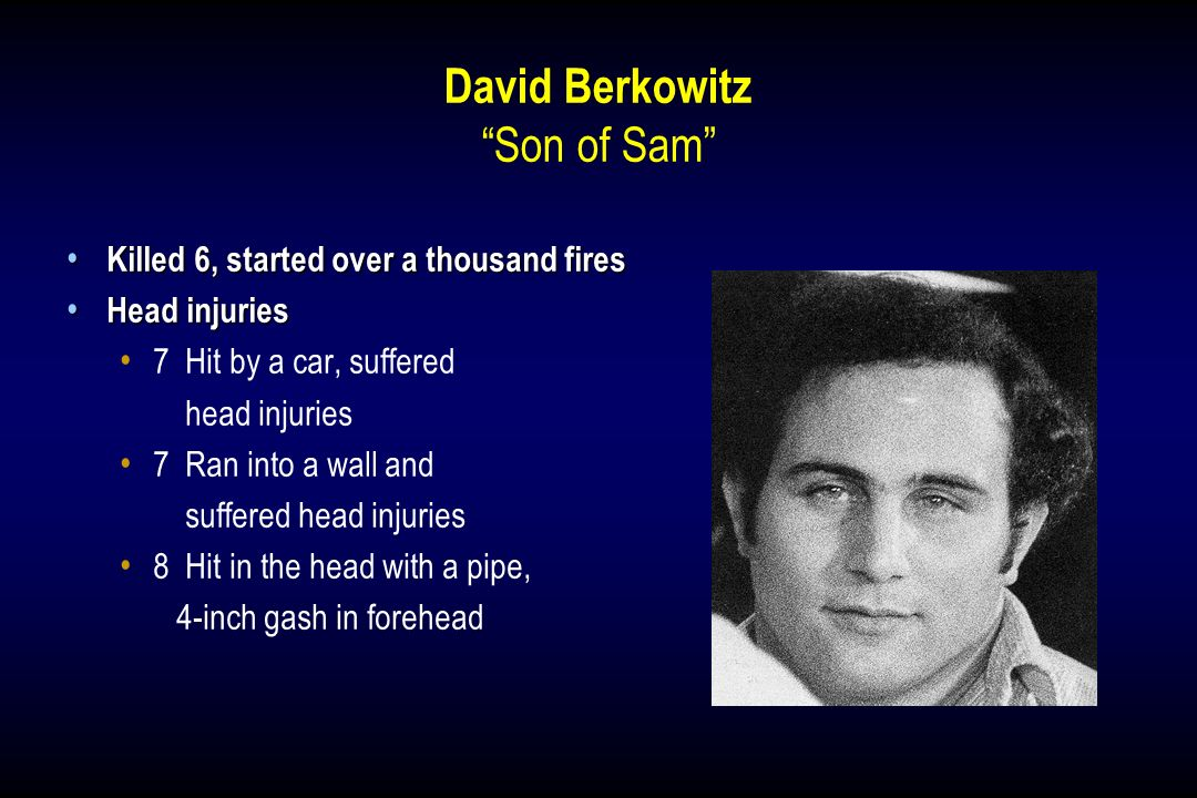 David Berkowitz Son of Sam