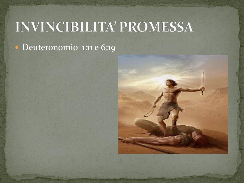 INVINCIBILITA' PROMESSA