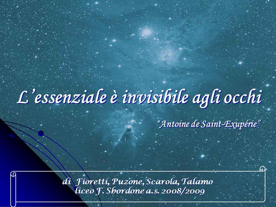 L'essenziale è invisibile agli occhi Antoine de Saint-Exupérie