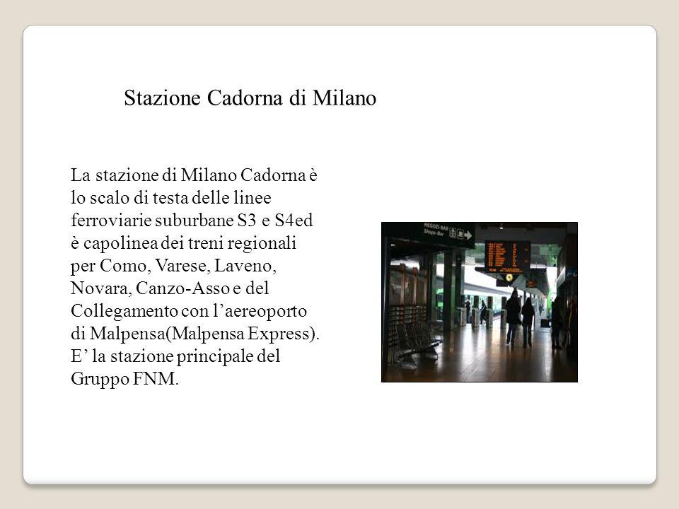 Stazione Cadorna di Milano