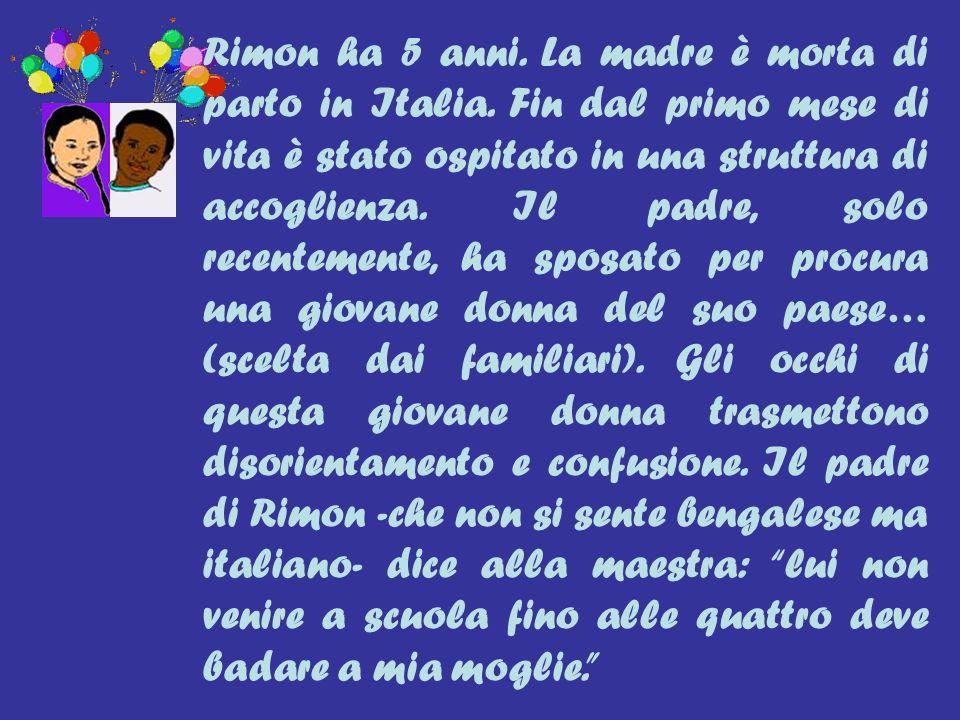 Rimon ha 5 anni. La madre è morta di parto in Italia