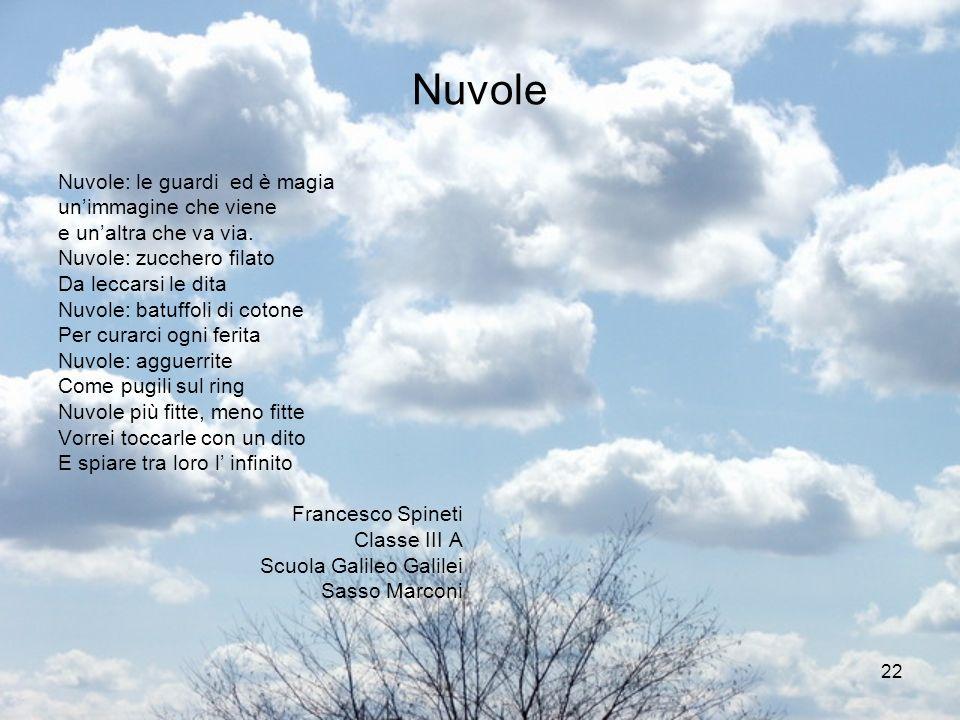 Nuvole Nuvole: le guardi ed è magia un'immagine che viene