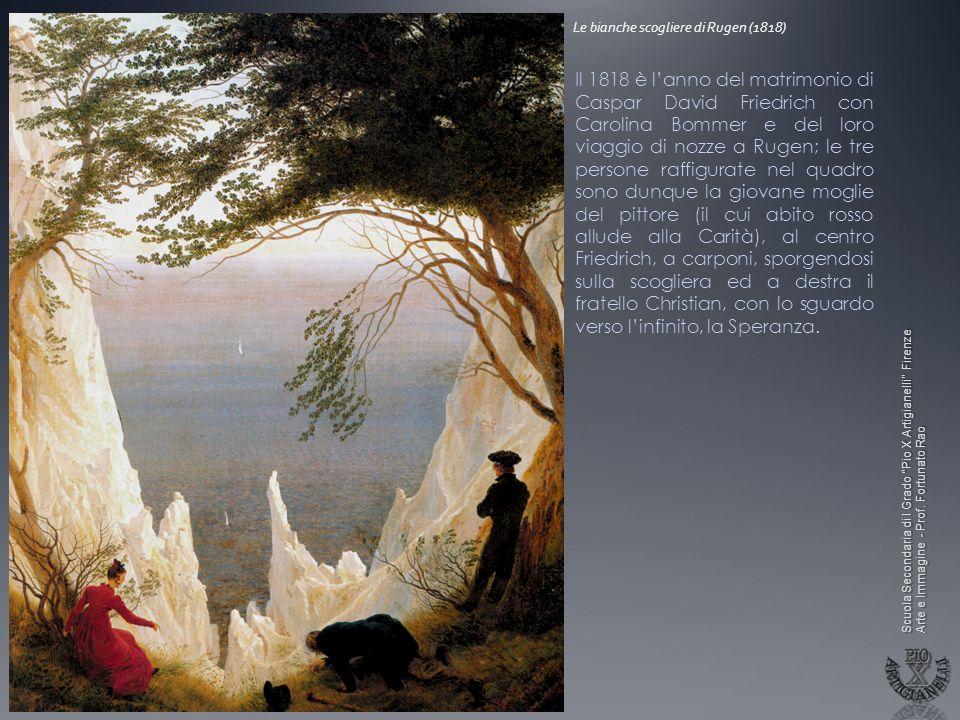 Le bianche scogliere di Rugen (1818)