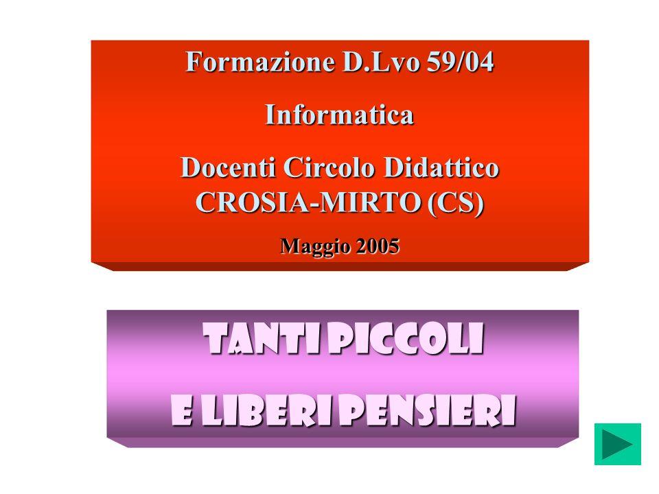 Docenti Circolo Didattico CROSIA-MIRTO (CS)