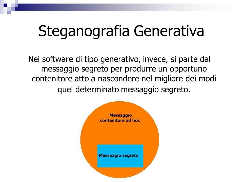 Steganografia Generativa