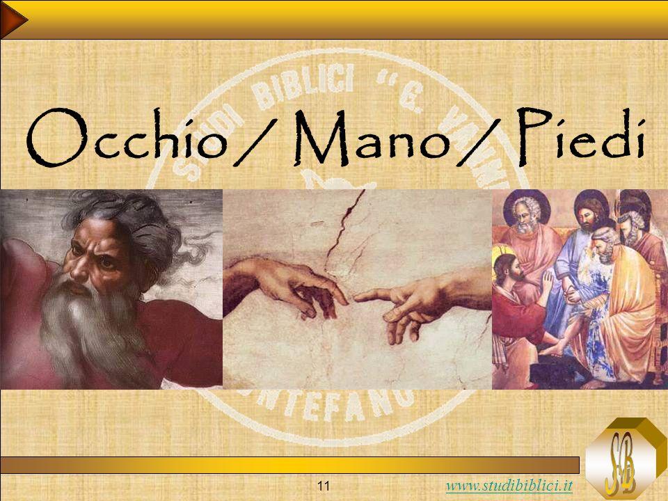 Occhio / Mano / Piedi