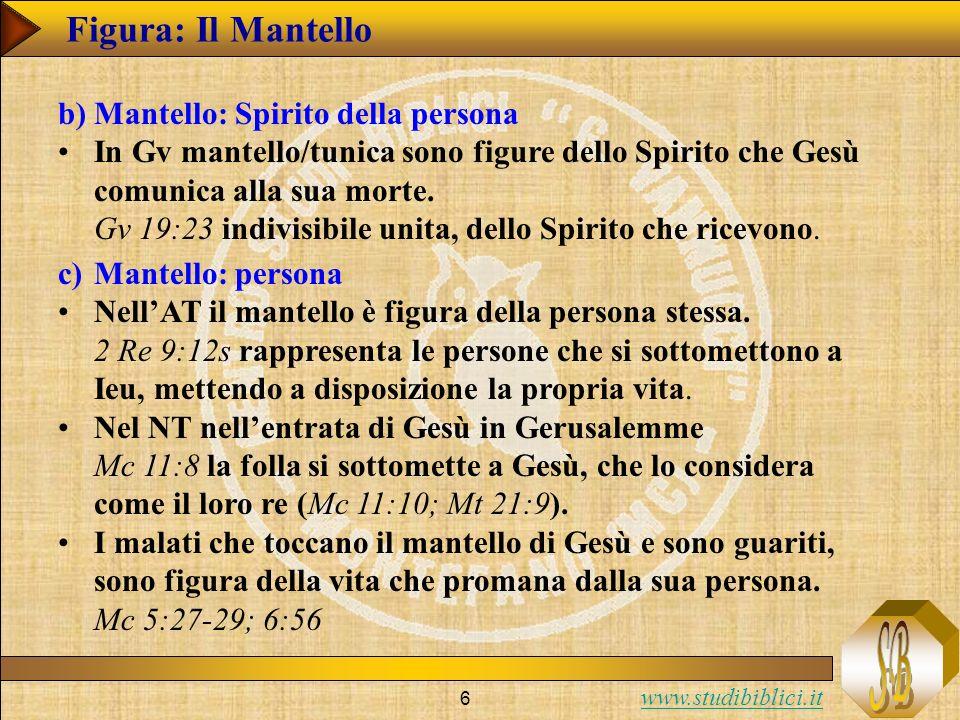 Figura: Il Mantello Mantello: Spirito della persona