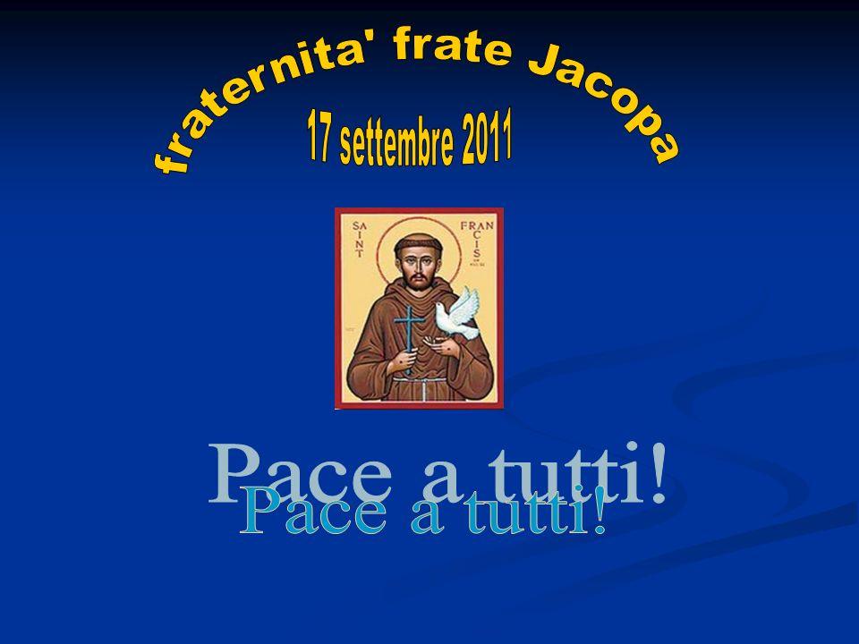 fraternita frate Jacopa