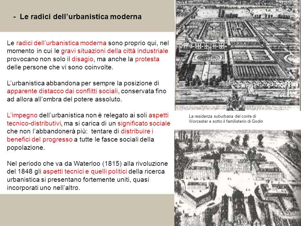 - Le radici dell'urbanistica moderna